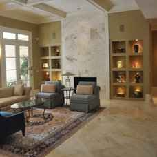 Contemporary Living Room by Robin LaMonte/Rooms Revamped