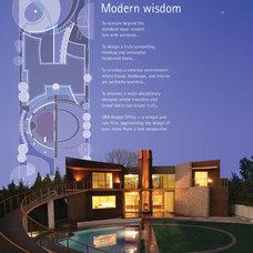 Modern Landscape by ORR Design Office, Inc.