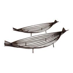 Cyan Design - Alexia Trays - Alexia trays - graphite