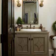 Traditional Bathroom by AJW Designs, Inc.