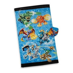 Franco Manufacturing Company, Inc. - Skylanders Bath Towel and Wash Mitt Set - This bath towel and wash mitt set is a great way to get the kids to want to take a bath. It coordinates perfectly with the Skylanders bedding collection.