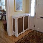 WickesWorks Products radiator covers. Custom made. -