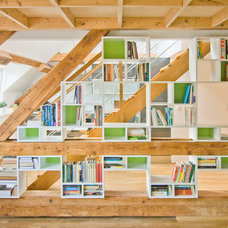 Contemporary Bookcases by goodarchitecture