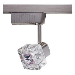 Designers Choice Collection - Designers Choice Collection 6701 Series Low Voltage MR16 Satin Nickel Glass Cube - Shop for Lighting & Fans at The Home Depot. The distinctive Cube Glass form of the Designers Choice Collection 6701 Series Low-Voltage Track Lighting head accents your decor with a Satin Nickel finish while providing 50 watts of directional Halogen light. A variety of available Track lengths enable custom Lighting design. Easily snaps into track at any point with a quarter-turn.