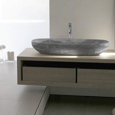 Contemporary Bath Products by Aeon Stone + Tile