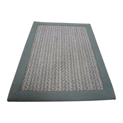 Safavieh - Natural Fiber 5 ft. Traditional Sisal Rug - Power loomed. Soft and durable. Made from sisal. Grey brown and grey color. Made in India. 5 ft. L x 3 ft. W. This densely woven rug will add a warm accent and feel to any home. The natural latex backing adds durability and helps hold the rug in place. Care Instructions: Vacuum regularly. Brushless attachment is recommended. Avoid direct and continuous exposure to sunlight. Do not pull loose ends; clip them with scissors to remove. Remove spills immediately; blot with clean cloth by pressing firmly around the spill to absorb as much as possible. For hard-to-remove stains professional rug cleaning is recommended.