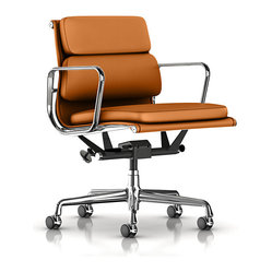 Eames Soft Pad Management Chair, All Grain Leather