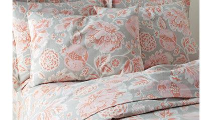 Kingsley Rose Flannel Bedding