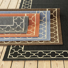 mediterranean outdoor rugs by Ballard Designs