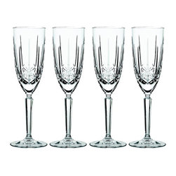 Waterford - Marquis by Waterford Sparkle Flutes (Set of 4) - Number of pieces: 4Dimensions: 8.5 ouncesMaterials: Crystal