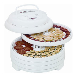 Nesco - Nesco American Harvest Digital Food Dehydrator - Make great dehydrated foods right at home with this Nesco digital food dehydrator Food dryer lets you make jerky,dried fruits and moreKitchen appliance is 1000 watts for quicker drying