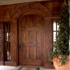 Mediterranean Front Doors by Deines Custom Door