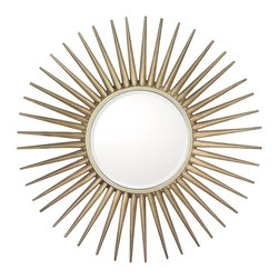 Capital Lighting - Capital Lighting M343478 Mirror - Mirror in Brushed Silver by Capital Lighting.