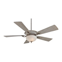 "Minka Aire - Minka Aire F701-DRF Delano Driftwood Uplight 52"" Ceiling Fan with Wall Control - Features:"