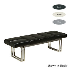 Cole Jr. Bench, Black