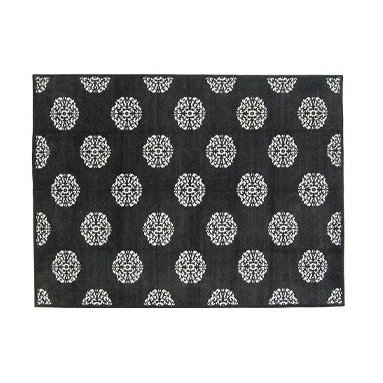Mandala Charcoal Cotton Chenille Rug from Madeline Weinrib Atelier - We've used this piece a couple of times, it is great if you prefer a flat weave rug but would like a softer alternative to wool. Will work equally well in a dining or family room.