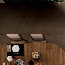 Contemporary Dining Room by Statements Tile