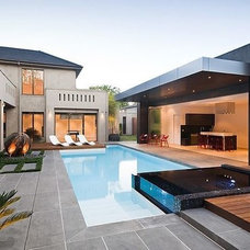 Contemporary  by Brancato Landscaping
