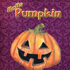 Caroline's Treasures - Hello Pumpkin Halloween Flag Canvas House - Full size house flag is made from a 100% polyester heavy weight canvas material. Not your typical house flag that you might find from a mass merchant. These flags are only sold online and in specialty boutiques. This flag is much heavier than most flags currently being sold by other manufacturers. This flag is fade resistant and weather proof. The flag measures approximately 28 inches x 40 inches (wooden flag pole, hanging bracket or yard stand sold seperaletly)