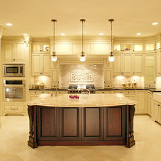 Send pics of formal islands with corbels - Kitchens Forum - GardenWeb