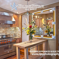 Contemporary Gas Ranges And Electric Ranges by Plesser's Appliance