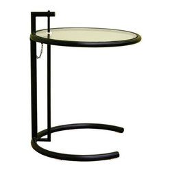 Wholesale Interiors Eileen Black End Table - Modern side table