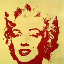 """Andy Warhol Gold Marilyn Monroe Sunday B Morning Serigraph Silkscreen #6 Popart - STUNNING MARILYN BY ANDY WARHOL SUNDAY B MORNING SERIGRAPH SCREEN PRINT!, These are fabulous exciting silkscreen screenprints. These are Sunday B. Mornings editions screenprints that are stamped on the verso in blue ink published By Sunday B Morning, fill in Your Own Signature. The inks' are the 1980's editions and the quality and integrity of the prints is impeccable. They are excellent High quality Silkscreen Screenprints printed on 'museum board' with the highest quality archival inks. Comes with Certificate of Authenticity. These are highly sought after by collectors for their quality, rarity and exciting vibrant colors.These are in excellent mint condition. Size is large at 36"""" x 36"""" inches."""