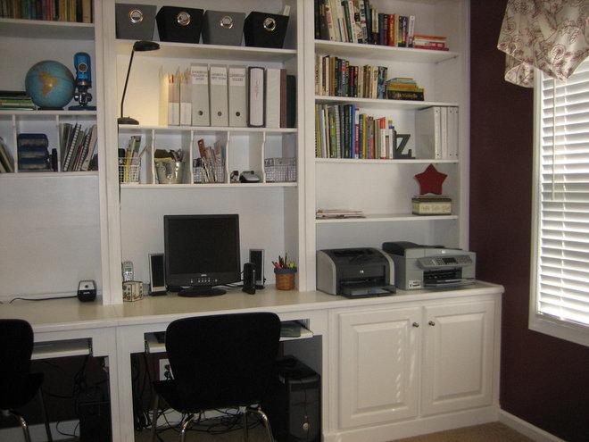 Modern Home Office by Just Jill! Interiors