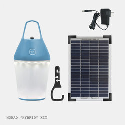 O'Sun Nomad Lamp Hybrid - The Nomad Lamp offers the flexibility of a rechargeable solar lamp with a contemporary appearance and an ecological dimension.