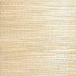 Yoshe Beige Grasscloth Wallpaper - A neutral and organic grasscloth wallpaper, creating an intriguing woven texture with eco-chic allure.