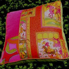 Eclectic Decorative Pillows by Le Côté Français Maison