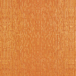 Orange Two Toned Cross Stitch Metallic Sheen Upholstery Fabric By The Yard - This multipurpose fabric is great for residential upholstery, bedding and drapery. This material is woven for enhanced elegance. The sheen of this material varies depending on the light for a unique appearance.