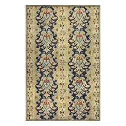 "Kas Rugs - Kas Tapestry 6814 Multi 3'3"" x 5'3"" Area Rugs - Kas Tapestry 6814 Multi 3'3"" x 5'3"" Area Rugs"