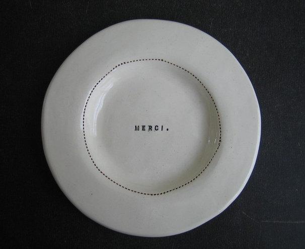Modern Dinner Plates by Etsy