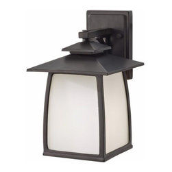 "Murray Feiss Lighting - Murray Feiss Lighting-OL8501ORB-Wright House - One Light Outdoor Lantern Brkt - *Overall Dimensions: H- 12.5"" W- 7.875"" E- 9.188"" BP- 6.5x4.5"""