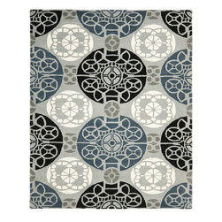 Safavieh - Contemporary Wyndham 8'x10' Rectangle Grey - Black Area Rug - The Wyndham area rug Collection offers an affordable assortment of Contemporary stylings. Wyndham features a blend of natural Grey - Black color. Hand Tufted of Wool the Wyndham Collection is an intriguing compliment to any decor.