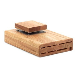 "Wusthof - Wusthof 9-Slot Under-Cabinet ""Swinger"" Knife Block - 9 Total Slots"