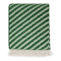 Straight Twill Blanket, Green