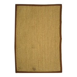 Safavieh - Trinette Natural Fiber Rug, Natural. Brown 2' X 3' - Construction Method: Power Loomed. Country of Origin: China. Care Instructions: Vacuum Regularly To Prevent Dust And Crumbs From Settling Into The Roots Of The Fibers. Avoid Direct And Continuous Exposure To Sunlight. Use Rug Protectors Under The Legs Of Heavy Furniture To Avoid Flattening Piles. Do Not Pull Loose Ends; Clip Them With Scissors To Remove. Turn Carpet Occasionally To Equalize Wear. Remove Spills Immediately. Hand-woven with natural fibers, this casual area rug is innately soft and durable. This densely woven rug will add a warm accent and feel to any home. The natural latex backing adds durability and helps hold the rug in place.
