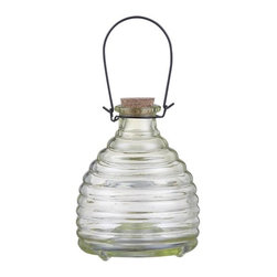 Insect Trap - If you're trying to cut down on chemicals and keep bugs to a minimum the old fashioned way, this is a stylish solution. Add sweet water to this jar and attract bees where you want them - not where you don't!