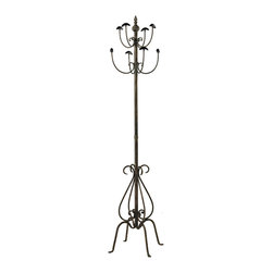 Sterling Industries - Sterling Industries 51-10046 Coat Stand In Paso Fundo Bronze - Coat Stand (1)