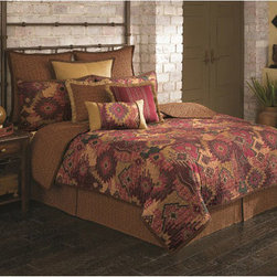 Scent-Sation, Inc. - Arizona Twin Quilt - 200 Thread Count Machine Wash Over sized for a better fit 250 gsm cotton filled 66 x 86.  - Product material: 100% cotton Scent-Sation, Inc. - 460TSANTFE