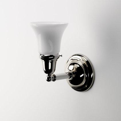 Traditional Bathroom Lighting And Vanity Lighting by Waterworks