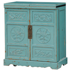 Eclectic Kitchen Cabinetry by Furnitureland South