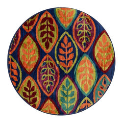Loloi - Loloi Isabelle Blue-Multi Area Rug - The Isabelle area rug Collection offers an affordable assortment of Contemporary stylings. Isabelle features a blend of natural BlueMulti color. Machine Made of Polypropylene the Isabelle Collection is an intriguing compliment to any decor.