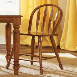 Modern Classical Style Florida Home West Bar Stools
