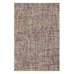 """Loloi Rugs - Loloi Rugs Leyton Collection - Multi, 5' x 7'-6"""" - The Leyton Collection features a series of hand-woven dhurries with simple, yet playful designs, enhanced by its vibrant colors. Made of 60% wool and 40% cotton from India, Leyton's patterns are elevated to create a high/low effect for enriched value."""
