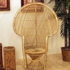 Tropical Living Room Chairs by rattanshack.com