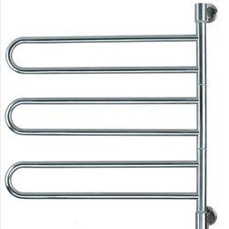 Amba Towel Warmers - Amba Towel Warmers Swivel J-B003 B Jill B003 - Swivel hinge unit rotates 180 degrees