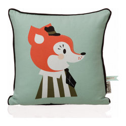 Mr. Frank Fox Pillow